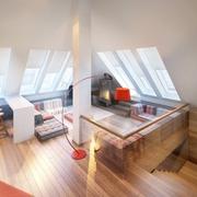 现代顶层复式公寓欣赏