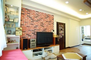 62平简约小两居欣赏客厅设计