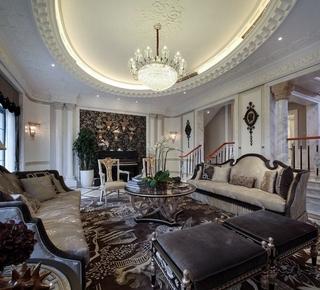 白色尊贵欧式住宅欣赏