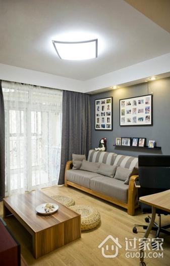 简约多彩两居室欣赏客厅灯饰