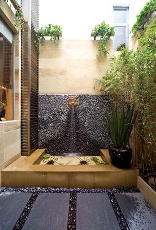 东南亚别墅设计庭院