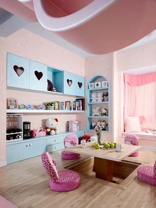 粉嫩住宅一居室欣赏