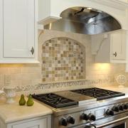 欧式住宅套图设计背景墙厨房