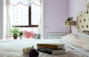 87平地中海三居室欣赏卧室窗户