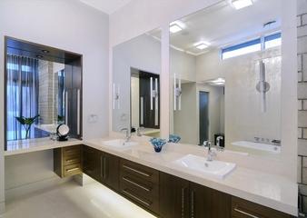 现代住宅效果图赏析浴室柜