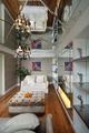 欧式风别墅休闲厅玻璃吊顶效果图