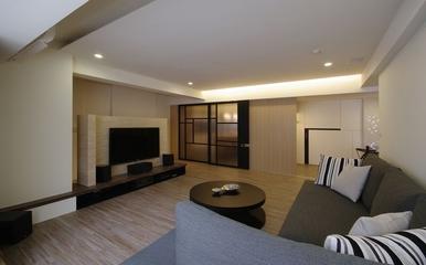 现代家居两居室欣赏