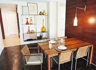 复合简约一居室欣赏餐厅设计