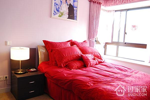 54平混搭舒适一居欣赏卧室摆件