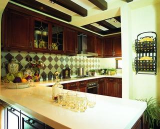 奢华东南亚装修厨房
