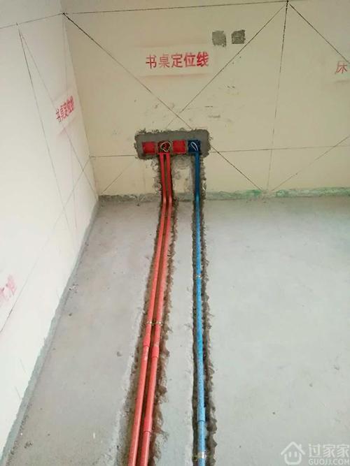 今天是我家验收水电,明天水电封槽!宝安鸿景园