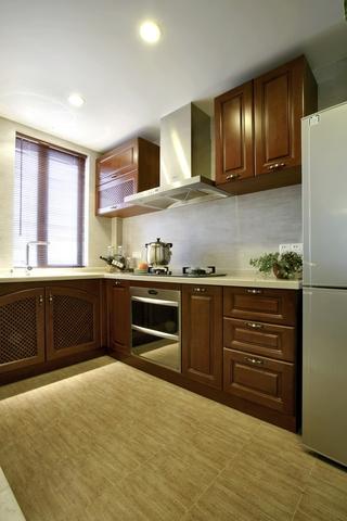 东南亚风格样板房欣赏厨房