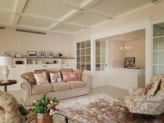 田园风格温馨效果欣赏客厅设计