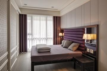 88平现代两居住宅欣赏卧室吊顶