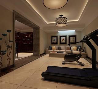 新古典大四居住宅欣赏客厅灯饰