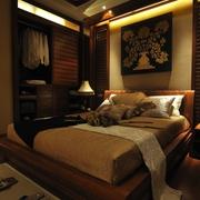 东南亚设计卧室床品