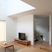 89平日式风格别墅欣赏客厅效果图