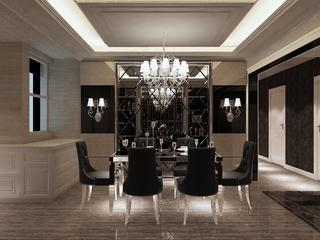 新古典大宅案例欣赏餐厅