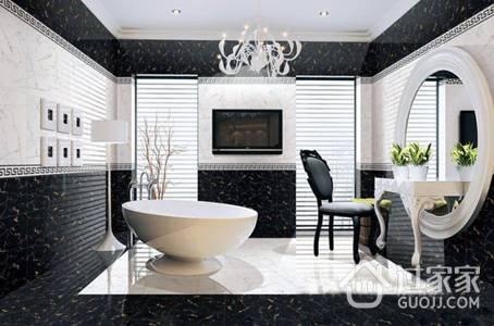 卫生间瓷砖颜色选择与地面拼花注意事项