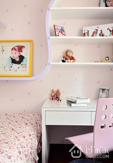 120平简约旋律住宅欣赏儿童房设计