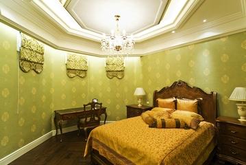 新古典别墅唯美卧室图