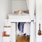 36平清新简约一居室欣赏卧室