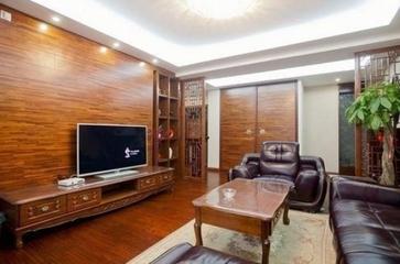 业主自述:120平三居室实用的中式风格装修