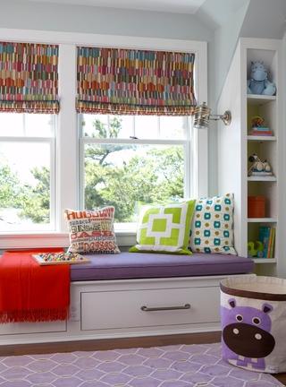 宜家风格时尚别墅装饰飘窗设计