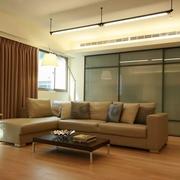 83平日式风格住宅欣赏客厅