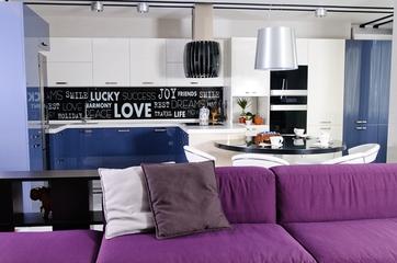 简约紫色美家欣赏厨房设计