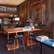 后现代材料利用住宅欣赏书房