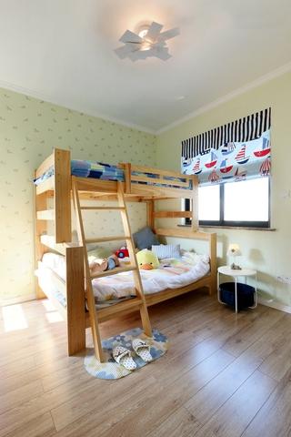 112平简约小清新住宅欣赏儿童房