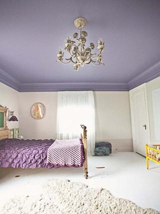 78平简欧户型欣赏卧室