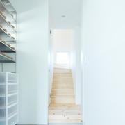 117平日式风格别墅欣赏楼梯