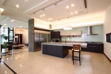 韵味新中式别墅欣赏厨房