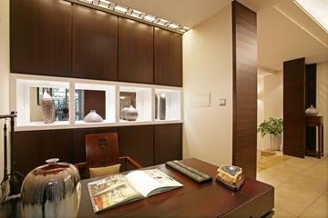 中式风格橱柜效果图