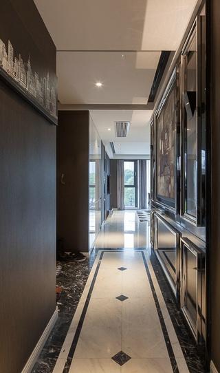 现代风三居室案例欣赏过道吊顶