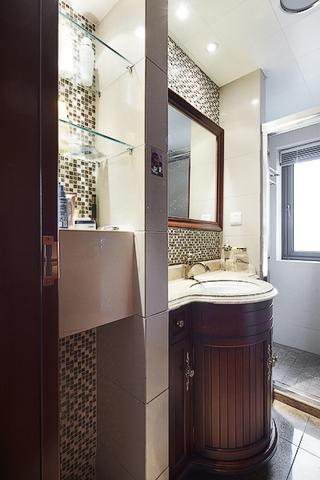 120平奢华新古典欣赏洗手间