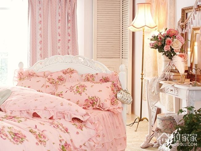 粉色简欧两居室欣赏