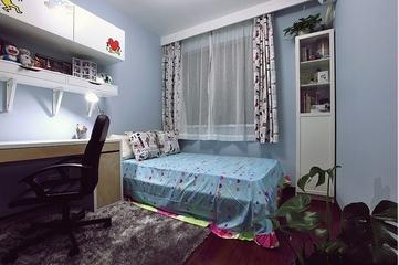 87平简约三居室案例欣赏儿童房