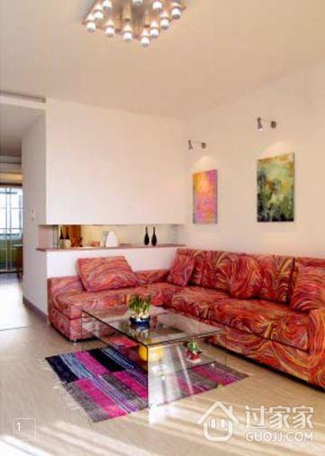 58平方米两室两厅装修  实例讲解小户型如何装修明亮和宽敞