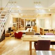 清新MIUI复式楼欣赏餐厅摆件