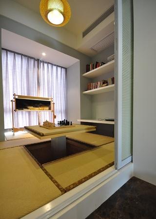 110平静谧新中式住宅欣赏茶室