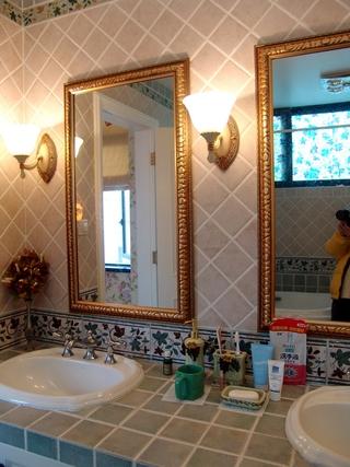 欧式田园风别墅洗手间