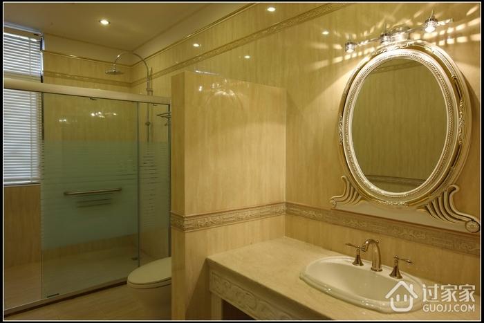 豪华欧式风格装修图片浴镜