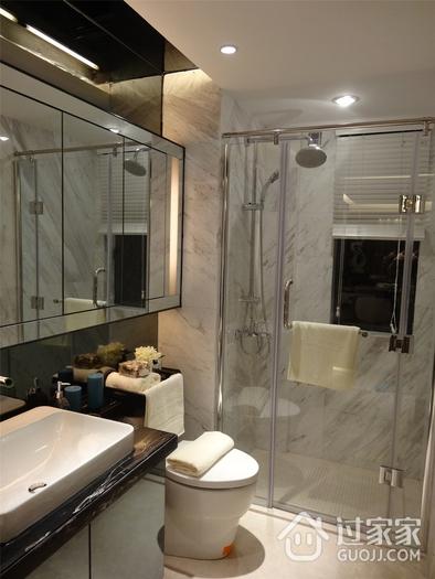 现代卫生间淋浴房设计效果图 时尚简约家居