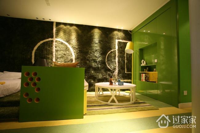 绿色环保简约小屋欣赏