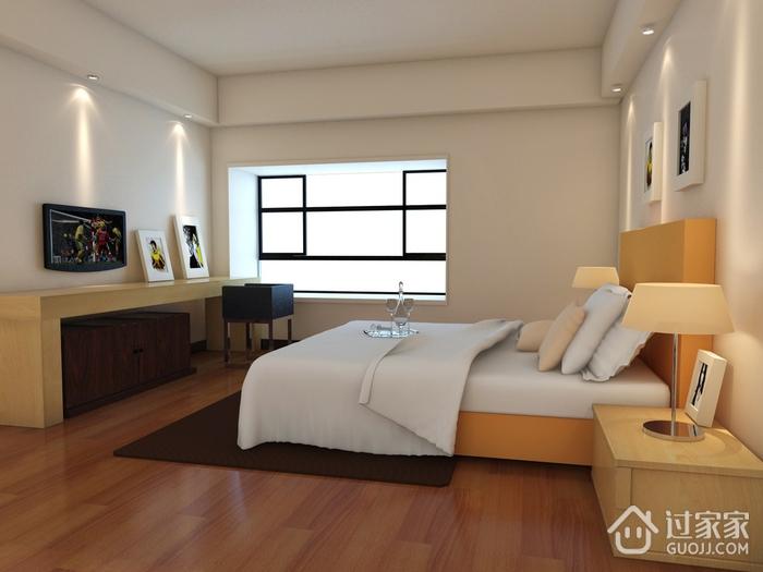 109平简约三居室案例欣赏卧室梳妆台