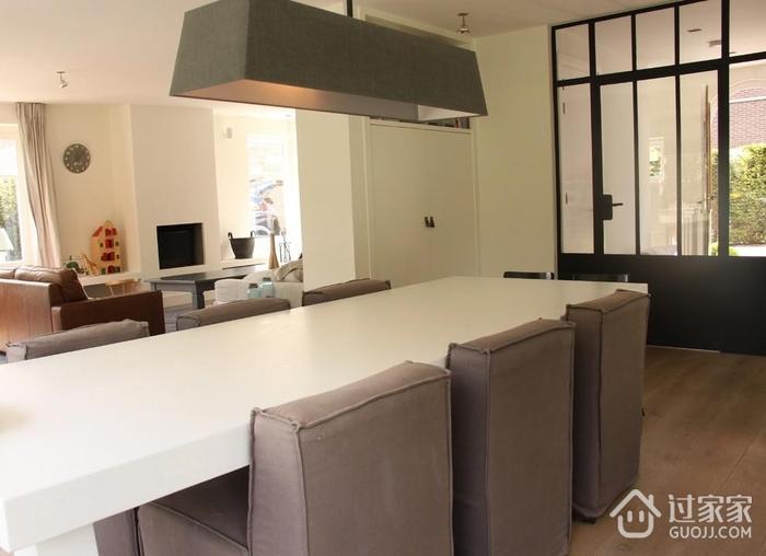 现代风格住宅效果图餐厅图片