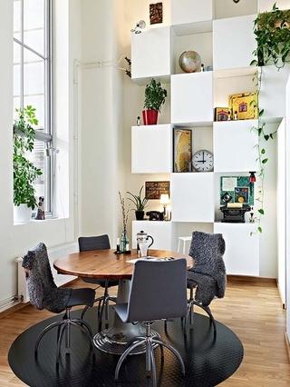 北欧宽敞住宅欣赏餐厅